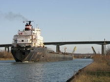 Welland Canal And Skyway