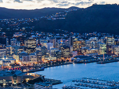 Wellington Harbour And City