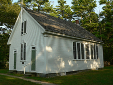 Wells Maine Div Schoolhouse