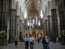 The Nave Of Westminster Abbey