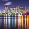 West Palm Beach FL Night View