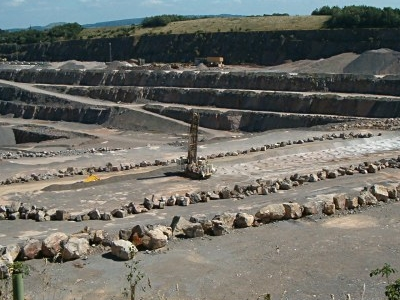 Stone Quarries Are Still A Major Employer In Somerset