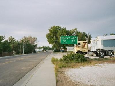 Wheatland City Limits