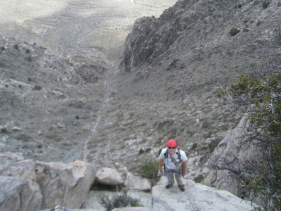 Wheeler  Crest Above  Owens  Valley