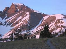Wheeler Peak Glacier - Morning View