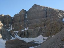 Wheeler Peak Headwall From Glacier Trail