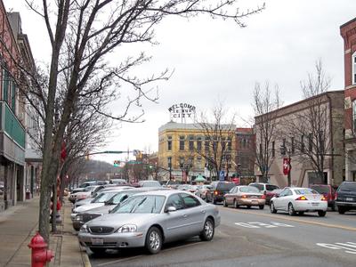 W.high Avenue In Downtown New Philadelphia In 2006