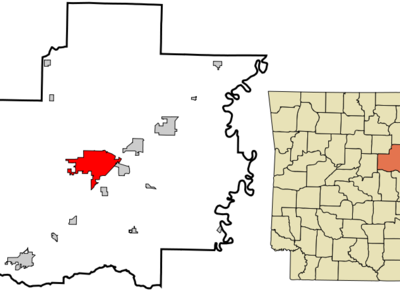 White  County  Arkansas  Incorporated And  Unincorporated Areas
