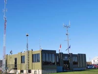 Whitecourt  Airport  Terminal  Building
