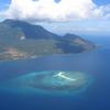 White Island With Hibok-Hibok Volcano