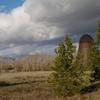 Wigwam Burner And Skyline Of Halfway