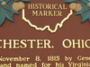 Winchester Historical Marker
