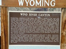 Wind River Canyon Tourist Info