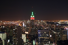 With Red And Green Lights For Christmas
