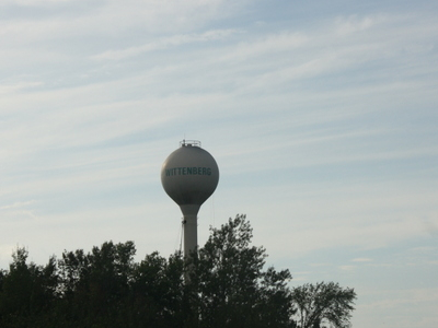 Wittenberg Wisconsin Wate Tower