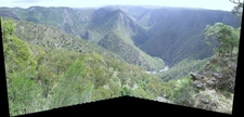 View From Edgar's Lookout, Wollomombi, NSW
