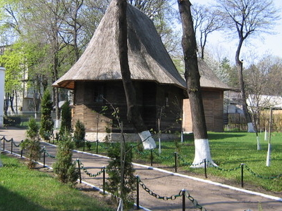 Wooden Church In Dorohoi