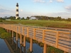 Wooden Walkway To Bodie Island Light - North Carolina