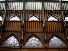 Interior Roof Of Wool Exchange