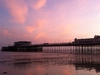 Worthing  Pier At Sunset