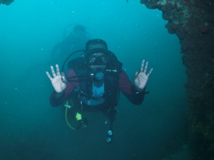 Wreck Diving off Kuching