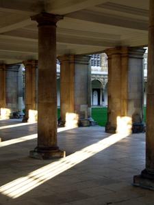 Cloisters Beneath Main Library Room