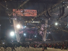 WrestleMania 23 Stage At Ford Field