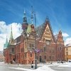 Wroclaw Town Hall Building