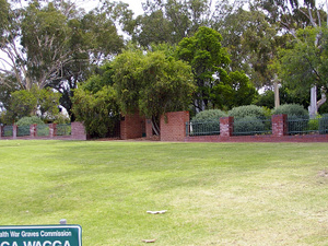 Wagga Wagga cementerio de la guerra