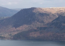 Walla Crag Seen From Hause Gate