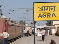 Agra Fort Railway Station
