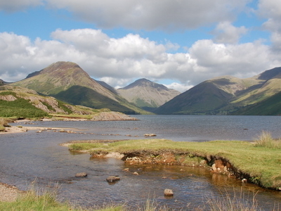 Wasdale From  Wastwater