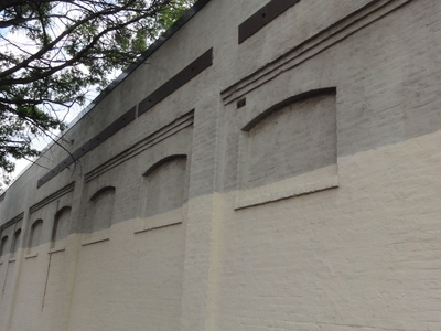 Washington Park Wall