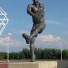 Wilf Mannion Statue M F C