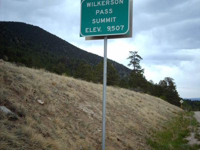 Wilkerson Pass Sign