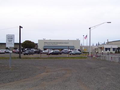 William R Fairchild International Airport