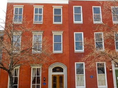 Wilson  House  Baltimore  Bolton  Hill