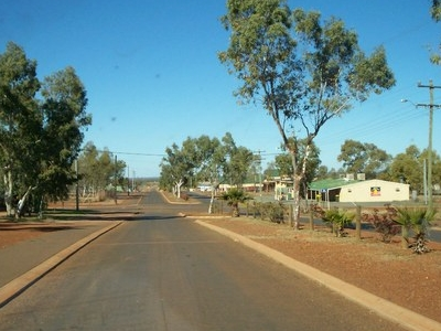Main Street In Wiluna