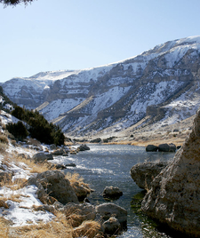 Another View Of Wind River Canyon