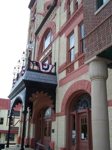Side View Of Woodstock Opera House