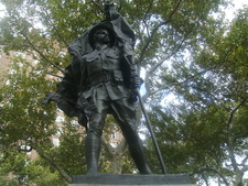 The Abingdon Square Memorial