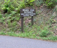 The Wear Cove Entrance To The GSMNP