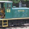 Locomotive #52 In Wiscasset And Farmington Yard