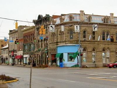 Xenia West Main Street At South Detroit Street 2008.