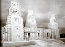 Xpuhil Site Reconstruction - Campeche - Mexico