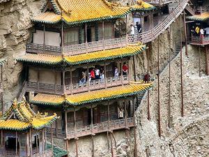 Colgante Monasterio de Hengshan