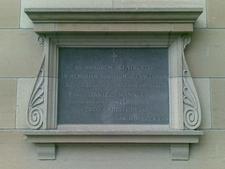 Xavier Chapel Foundation Stone