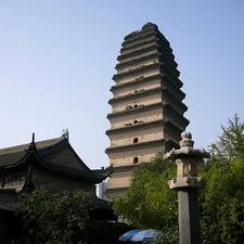 Small Wild Goose Pagoda In Xi'an