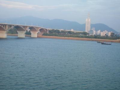 Xiang  River In  Changsha