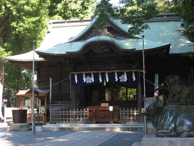The Main Hall Of Yaho Tenman-gū